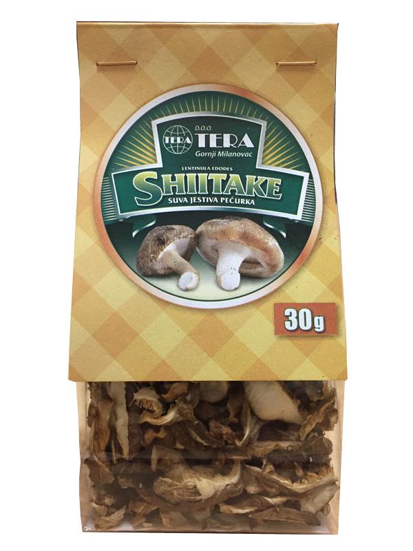 shiitake pecurka 30 grama prodaja